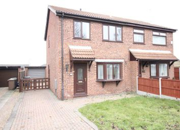 Thumbnail 3 bed semi-detached house for sale in Beech Road, Branston, Lincoln