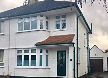 Thumbnail 3 bed semi-detached house to rent in Chatham Avenue, Bromley