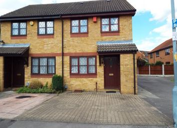 Thumbnail 2 bed semi-detached house for sale in Barkingside, Essex