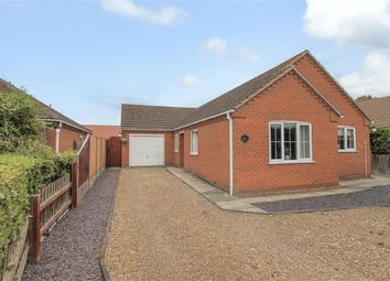 Thumbnail 3 bed detached bungalow for sale in Jubilee Close, Coningsby, Lincoln