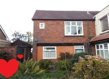 Thumbnail 1 bed flat to rent in Chester Road, Brownhills