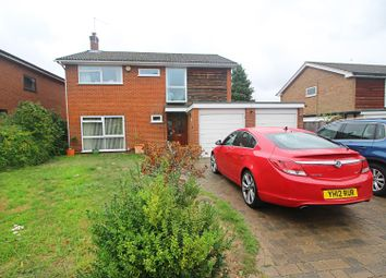 Thumbnail 4 bed detached house for sale in Crispin Close, Caversham, Reading