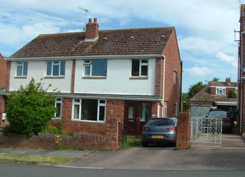 Thumbnail 3 bedroom semi-detached house to rent in West Garth Road, Exeter