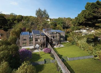 Thumbnail 4 bed detached house for sale in Church Road, Mylor Bridge