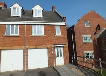Thumbnail 3 bedroom town house to rent in Manley Close, Trowbridge, Wiltshire