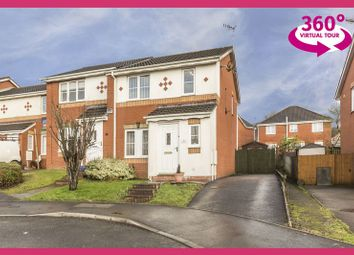 Thumbnail 3 bed semi-detached house for sale in Clos Onnen, Margam, Port Talbot