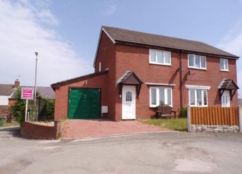 Thumbnail 2 bed semi-detached house for sale in Browns Lane, Cefn Mawr, Wrexham, Wrecsam