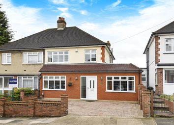 Thumbnail 3 bed semi-detached house for sale in Chelmsford Drive, Upminster