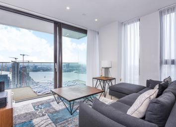 Thumbnail 1 bed flat to rent in The Waterman, Tidemill Square, Lower Riverside, Greenwich Peninsula