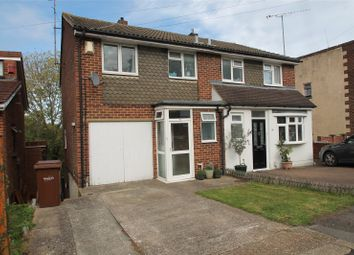 Thumbnail 3 bed semi-detached house for sale in Harptree Drive, Walderslade, Kent