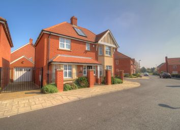 Thumbnail 4 bed detached house for sale in Sam Harrison Way, Northampton