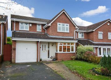 Thumbnail 4 bed detached house for sale in St. David Close, Hednesford, Cannock