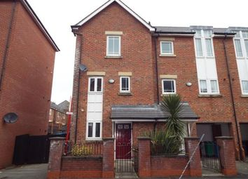 Thumbnail 4 bedroom terraced house for sale in Mackworth Street, Manchester, Greater Manchester