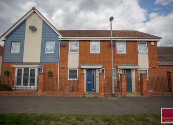 Thumbnail 2 bed terraced house for sale in St Simon Close, Queens Hill, Norwich