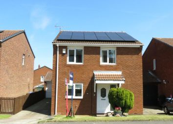 Thumbnail 4 bed detached house for sale in Dilston Close, Peterlee, Durham