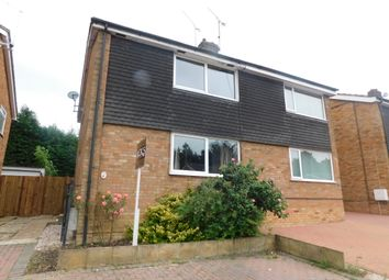Thumbnail 3 bed semi-detached house for sale in Stowmarket, Suffolk