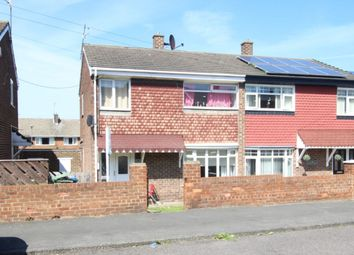 Thumbnail 3 bed semi-detached house for sale in Northlea Road, Seaham