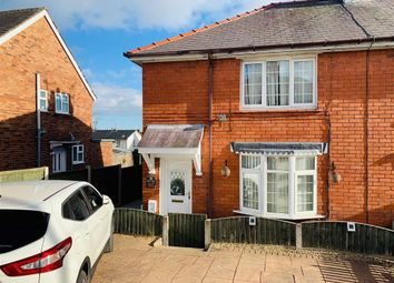 Thumbnail 3 bedroom semi-detached house for sale in Heol Offa, Johnstown, Wrexham