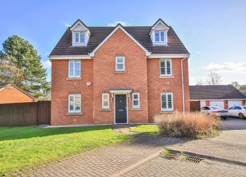 Thumbnail 5 bed detached house for sale in Wentloog Rise, Castleton, Cardiff