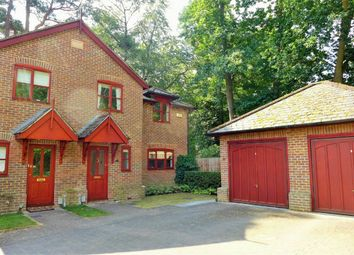 Thumbnail 3 bed semi-detached house to rent in Orchard Fields, Branksomewood Road, Fleet