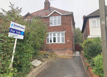 Thumbnail 2 bed semi-detached house for sale in Nottingham Road, Codnor, Ripley