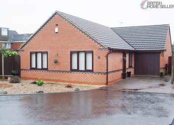 Thumbnail 3 bed detached bungalow for sale in Marshall Close, Calverton, Nottingham