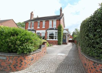 Thumbnail 4 bed semi-detached house for sale in Lightwood Road, Lightwood, Longton, Stoke-On-Trent