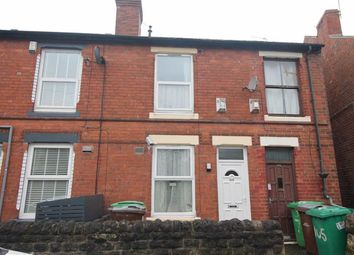 Thumbnail 2 bed terraced house for sale in Bulwell Lane, Basford, Nottingham