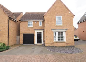 Thumbnail 4 bed detached house for sale in Tutt Close, Fernwood, Newark