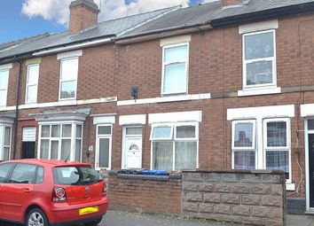 Thumbnail 2 bedroom terraced house for sale in Vincent Street, New Normanton, Derby