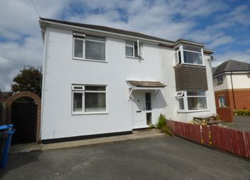 Thumbnail 3 bed semi-detached house to rent in Rosemary Road, Parkstone, Poole