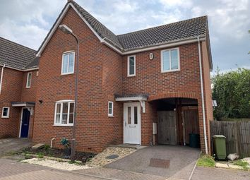 Thumbnail 3 bedroom end terrace house to rent in Edwards Croft, Bradville, Milton Keynes