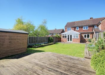 Thumbnail 4 bed semi-detached house to rent in Cozens Road, Ware