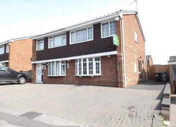 Thumbnail 3 bed semi-detached house for sale in Poplar Avenue, Bentley, Walsall, West Midlands