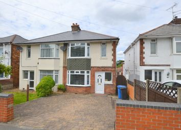 Thumbnail 3 bed semi-detached house for sale in Ringwood Road, Oakdale, Poole