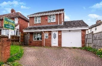 Thumbnail 3 bed detached house for sale in Hales Lane, Smethwick, West Midlands