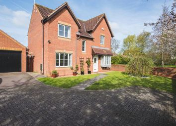 Thumbnail 4 bedroom detached house for sale in Curtis Croft, Shenley Brook End, Milton Keynes