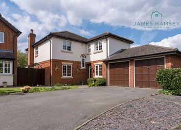 Thumbnail 4 bed detached house for sale in Hanworth Lane, Chertsey