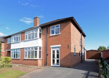 Thumbnail 3 bed semi-detached house for sale in Belvidere Avenue, Shrewsbury