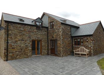 Thumbnail 4 bed barn conversion for sale in Polscoe, Lostwithiel