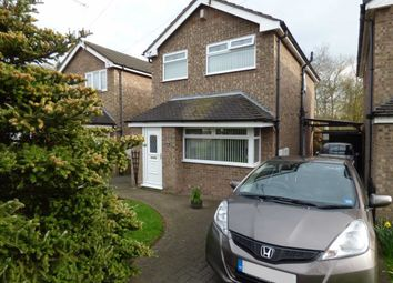 Thumbnail 3 bed detached house for sale in Fernbank Close, Crewe