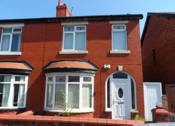 Thumbnail 3 bed semi-detached house to rent in Airedale Avenue, Blackpool