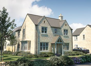 "Thumbnail 4 bed detached house for sale in ""The Caulke"" at Cirencester Road, Fairford"