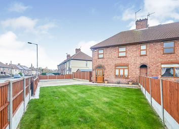 Thumbnail 3 bed semi-detached house for sale in Longmead Road, Burton-On-Trent, Staffordshire