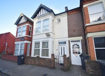 Thumbnail 3 bed terraced house to rent in Ashburnham Road, Luton