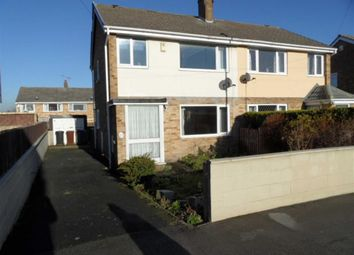Thumbnail 3 bedroom semi-detached house to rent in Denshaw Drive, Leeds, West Yorkshire