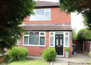Thumbnail 2 bed semi-detached house to rent in Knowl Close, Denton, Manchester