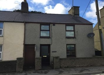 Thumbnail 2 bed terraced house to rent in Y Ffor, Pwllheli