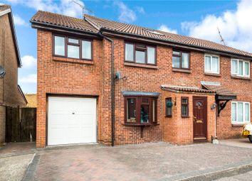 Thumbnail 5 bed semi-detached house for sale in Henley Deane, Northfleet, Kent
