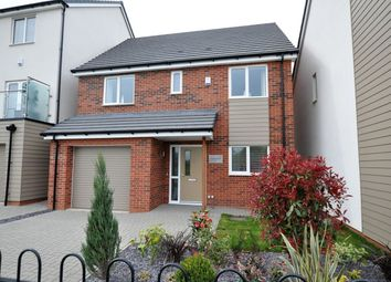 Thumbnail 4 bed detached house for sale in Acacia Lane, Branston, Burton Upon Trent